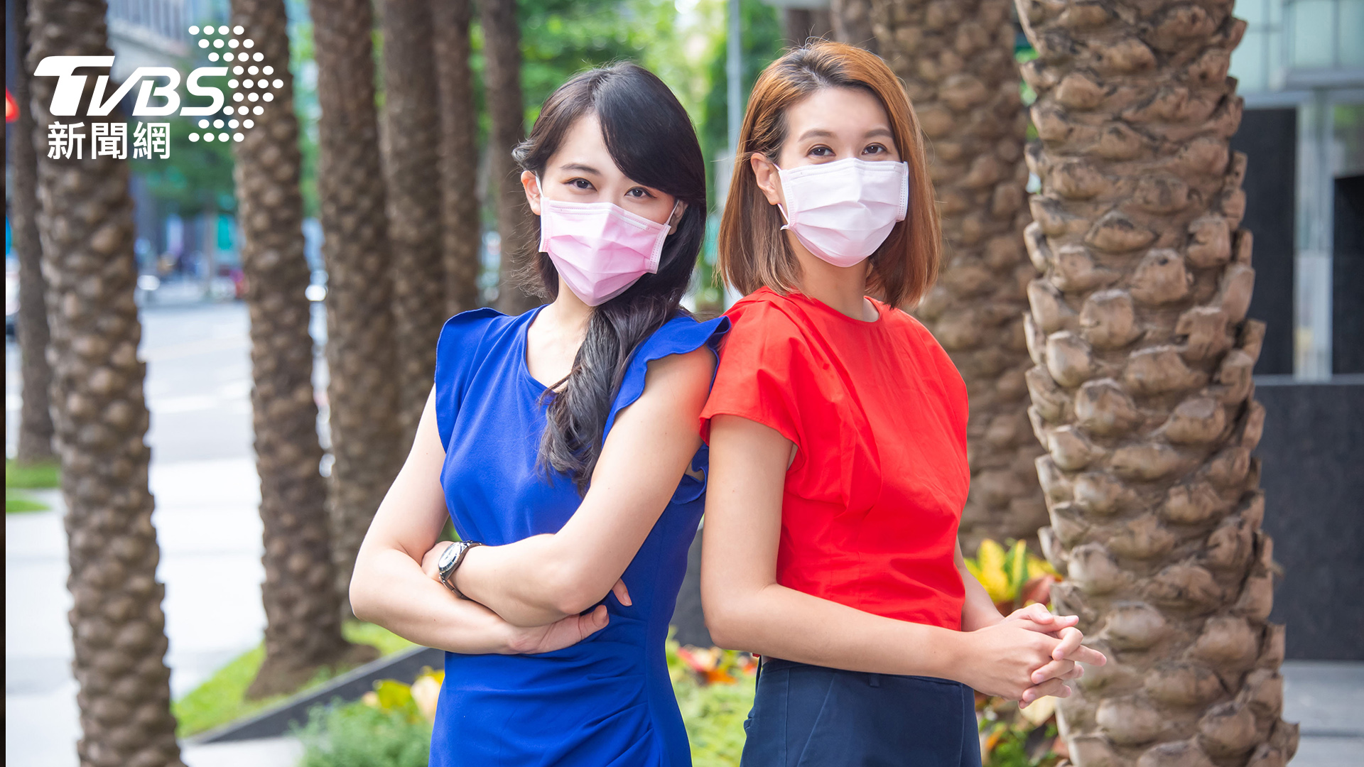 《明欣醫聊室》主持人家醫科醫師陳欣湄(左)及營養師宋明樺(右) Delta病毒「幼童化」 醫曝兩關鍵族群要當心