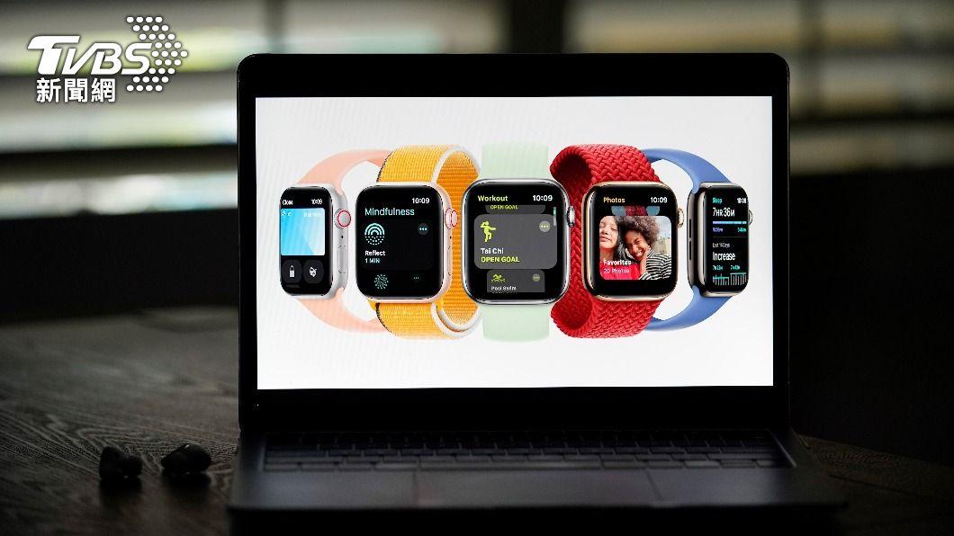 (圖/達志影像美聯社) Apple Watch S7螢幕放大充電變快 史上最耐用