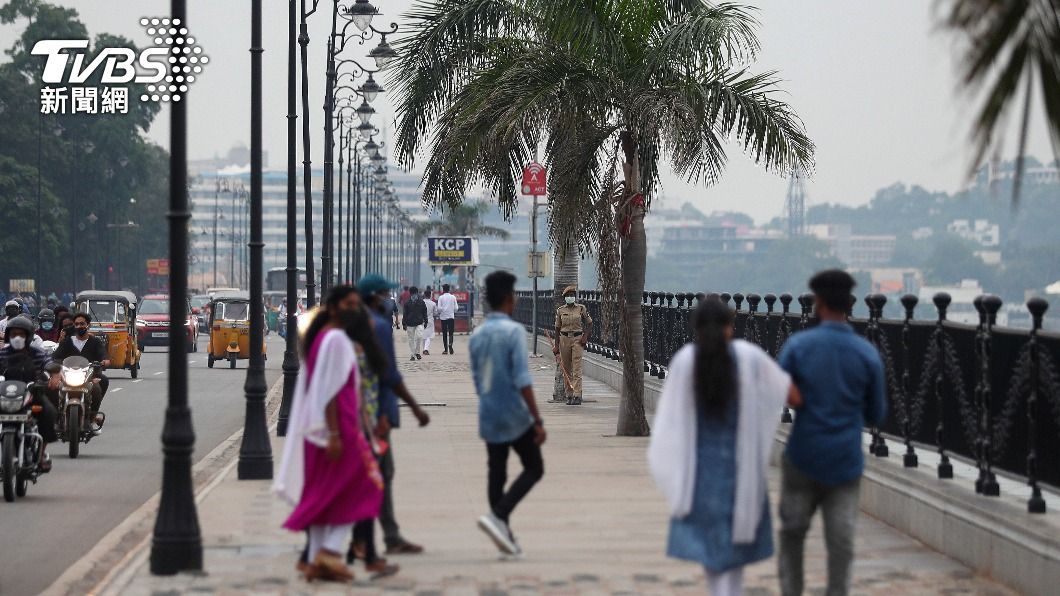 圖為印度街景。(圖/達志影像美聯社) 印度警逮6策劃恐攻嫌犯 搜出強力炸彈「原訂下月攻擊」