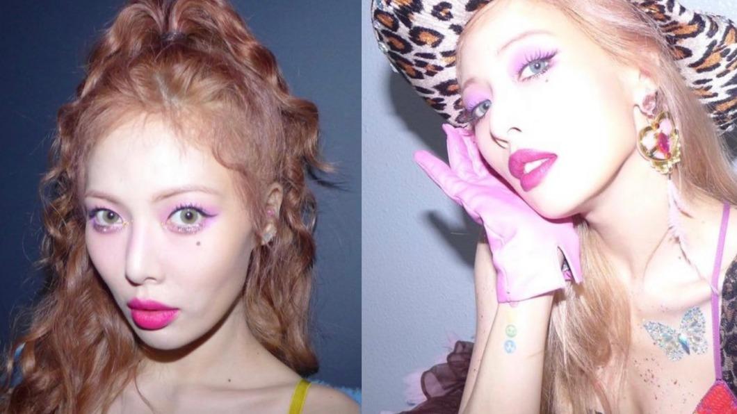 韓國女星泫雅超級寵粉。(圖/翻攝自泫雅IG) 寵粉事蹟+1!打完疫苗想喝酒 泫雅訓話:在開玩笑嗎