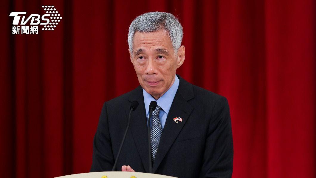 新加坡總理李顯龍。(圖/達志影像路透社) 星總理李顯龍打疫苗追加劑 籲長者踴躍接種防重症