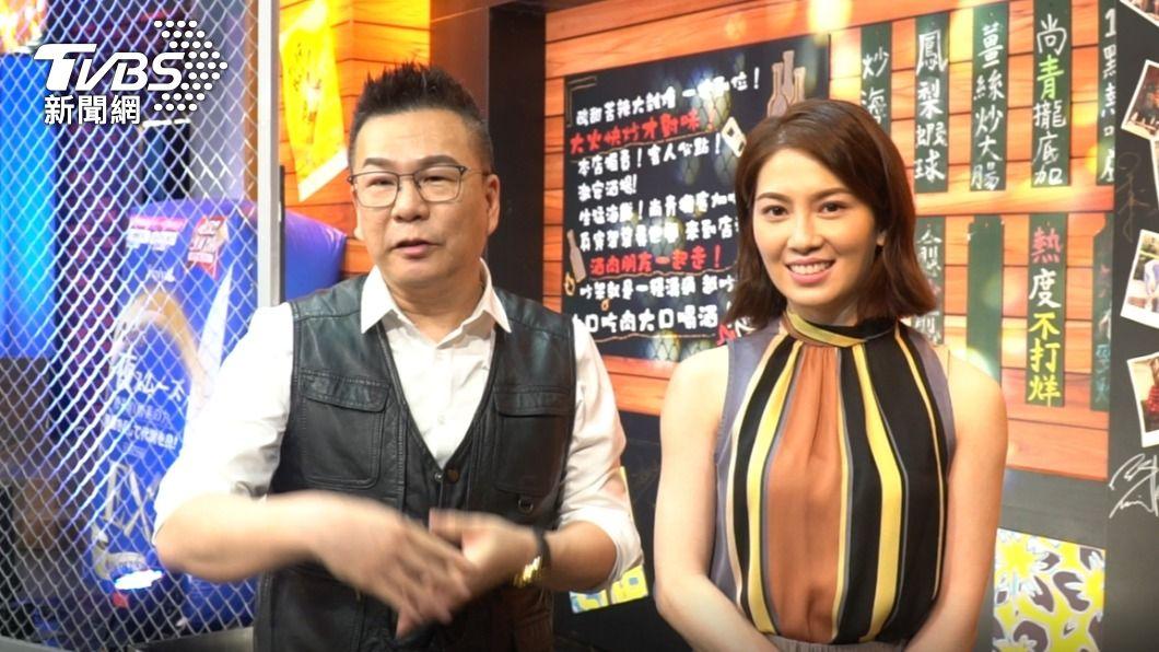 沈玉琳、許藍方一起受訪。(圖/TVBS) 獨/許藍方陷感情風波想關心 沈玉琳自爆「這因素」受阻