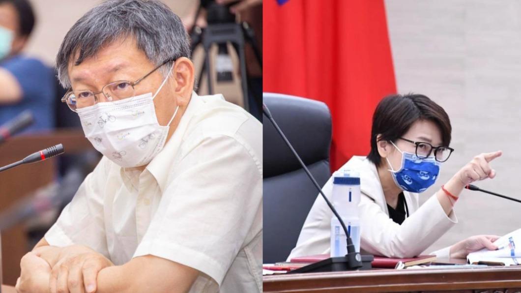 台北市副市長黃珊珊直言,柯文哲的目標就是選總統。(圖/翻攝自柯文哲、黃珊珊臉書) 任期屆滿選高雄市長? 黃珊珊曝柯文哲2024明確目標