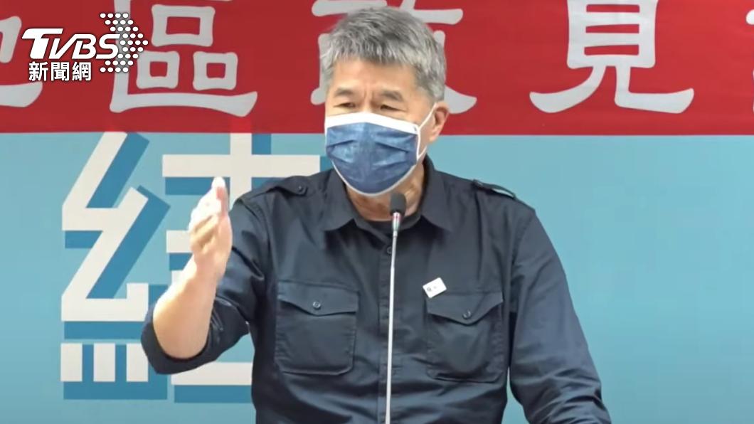 國民黨主席候選人張亞中。(圖/TVBS) 戰到死都要贏回高雄!張亞中:跪也要跪出「最強候選人」