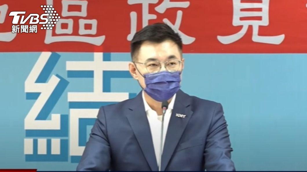 江啟臣。(圖/TVBS) 暗酸朱立倫!江啟臣轟:2020選舉會輸 全因「總統提名」