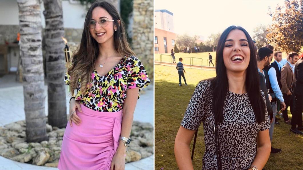 阿拉格娜(左)和芙德菈(右)兩人情同姊妹。(合成圖/翻攝自Caterina Alagna、Melissa Fodera臉書) 「女兒同學」激似自家孩子 她驗DNA掀驚人真相