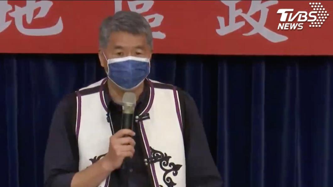 張亞中。(圖/TVBS) 砲轟黨內權貴才「亡黨」 張亞中:我是來救黨