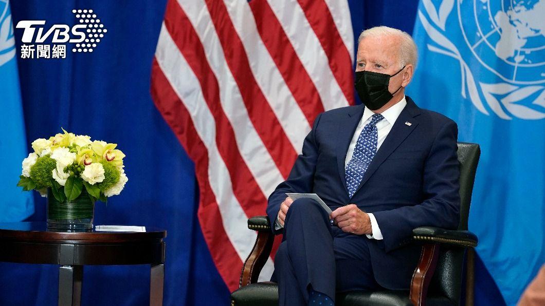美國總統拜登。(圖/達志影像美聯社) 拜登首場聯大演說 將強調美中競爭「非新冷戰」