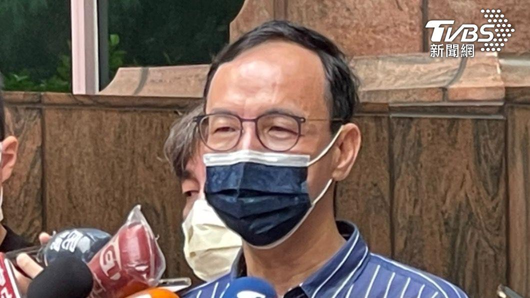 國民黨前主席朱立倫。(圖/朱立倫辦公室提供) 陸封殺台灣釋迦、蓮霧 朱立倫:不是水果問題是兩岸關係