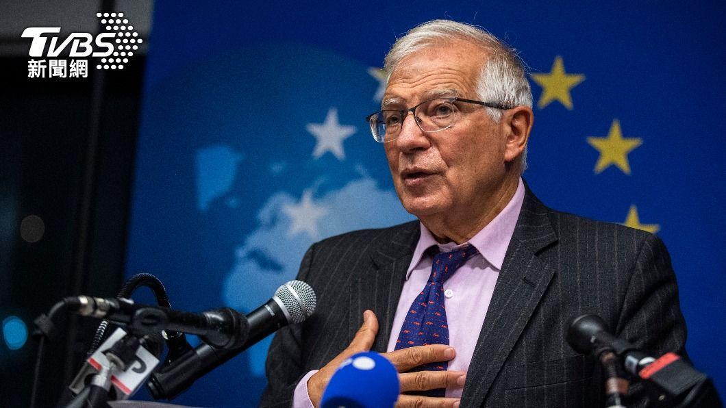 歐盟外長波瑞爾在近期的潛艦合約爭議中力挺自家人法國。(圖/AP) 歐盟挺法國潛艦爭議!不懂拜登「美國回來了」什麼意思