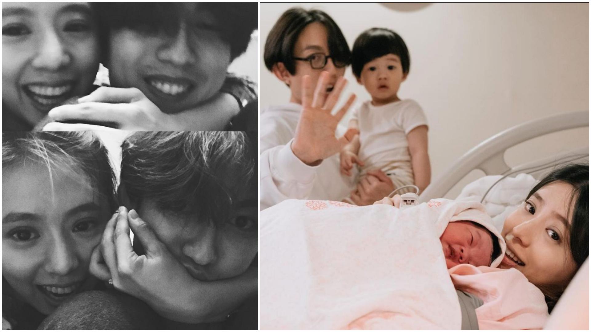 圖/翻攝自丁文琪IG 林宥嘉3歲兒許願「再一個妹妹」 丁文琪回答網暴動