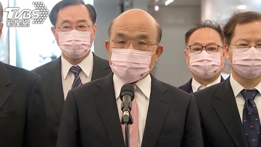 閣揆蘇貞昌。(圖/TVBS資料畫面) 加入CPTPP開放核災區食品? 蘇揆:沒什麼核島、福島食品