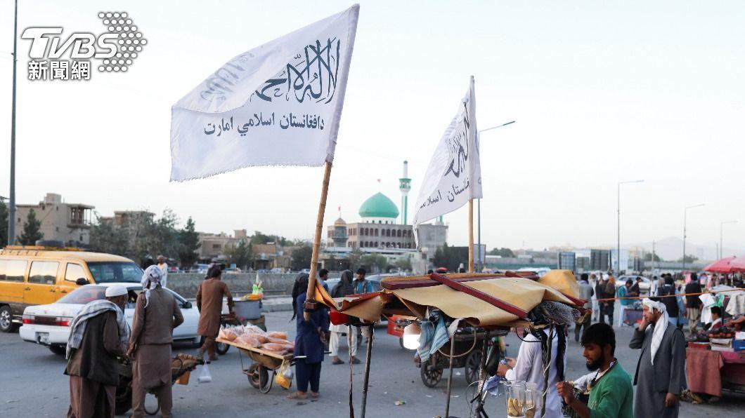 塔利班掌權阿富汗。(圖/達志影像路透社) 塔利班要求在聯合國大會演說 阿富汗代表鬧雙胞
