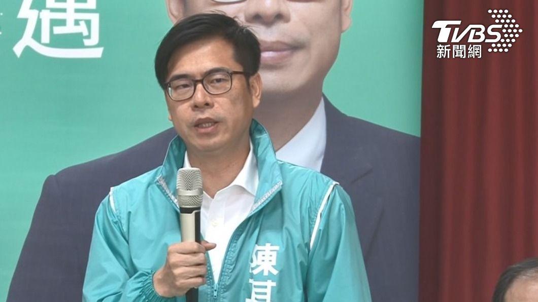 陳其邁高雄市長一位競爭激烈。(圖/TVBS資料畫面) 陳其邁高雄市長不保?新一代女戰神網路聲量「對決超驚人」