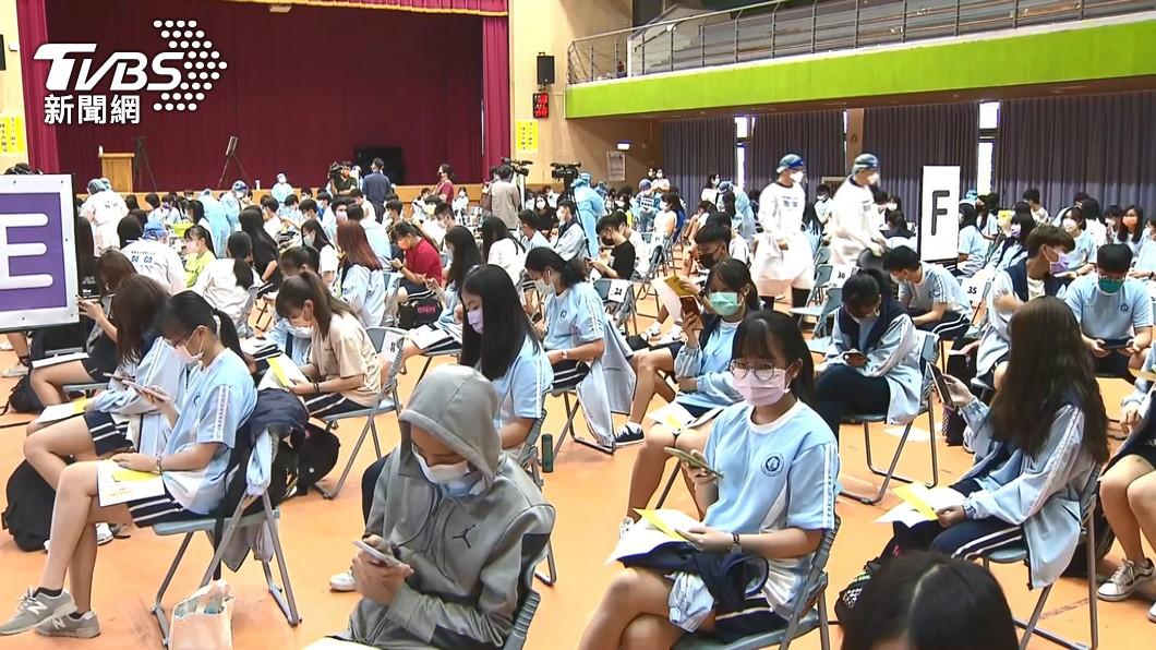 圖/TVBS資料畫面 快訊/學生BNT疫苗開打!台南已508人請疫苗假