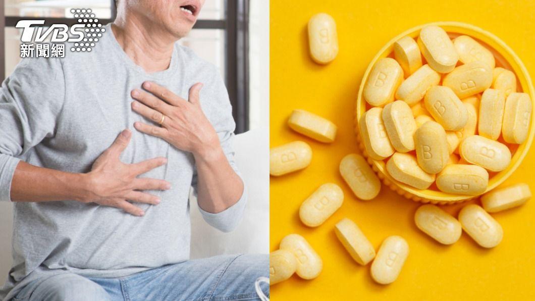 網傳男性補充B群會提升40至50%的肺癌風險。(示意圖/shutterstock 達志影像) 吃B群竟提升肺癌風險? 營養師給答案:不建議長期補充
