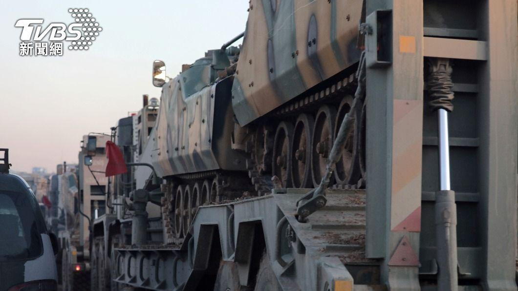 傳土耳其對敘利亞增派兵力。(圖/達志影像路透社) 艾爾段、普欽會談前 傳土耳其對敘利亞西北增兵數千