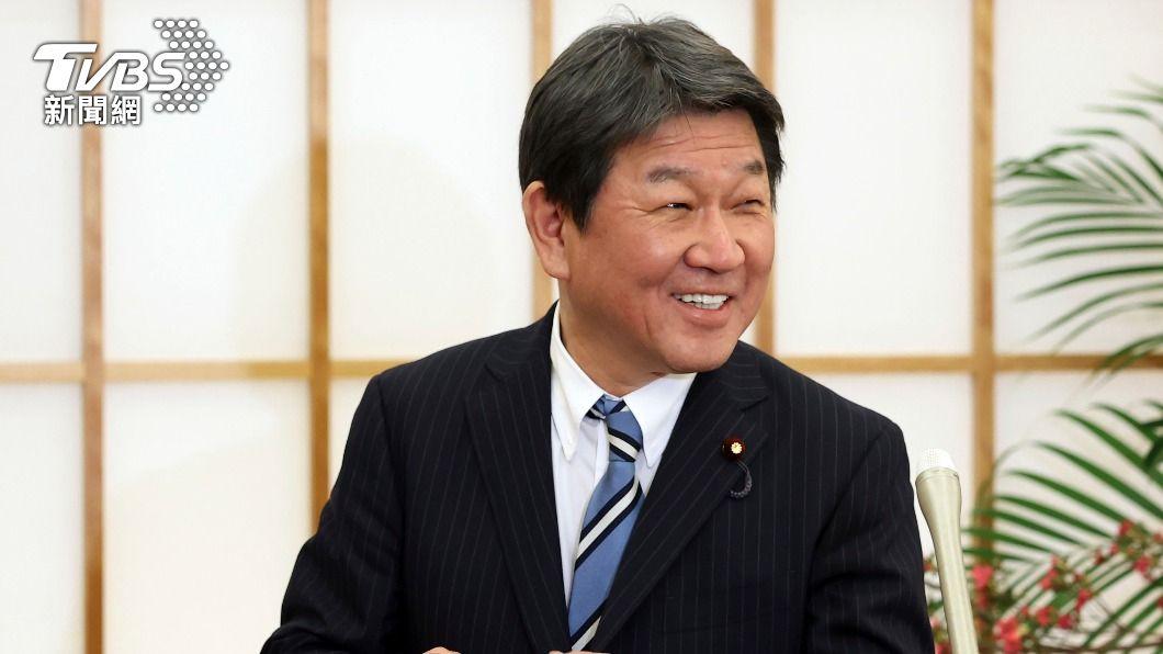 日本外相茂木敏充。(圖/達志影像美聯社) 台灣正式申請加入CPTPP 日本外相表示歡迎