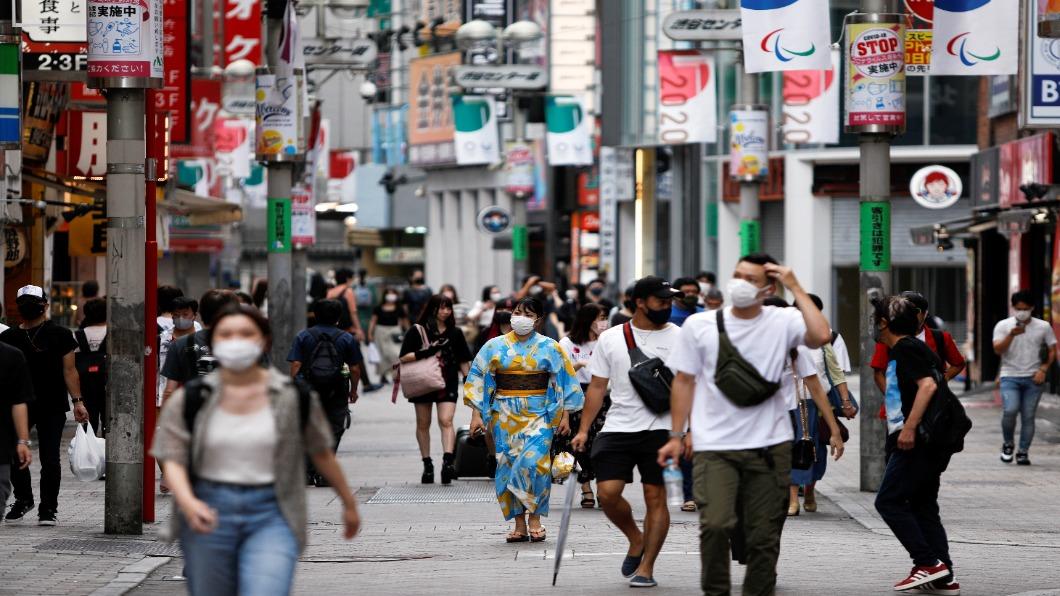 圖/達志影像路透 日本第五波再降溫 東京連7日新增低於千例