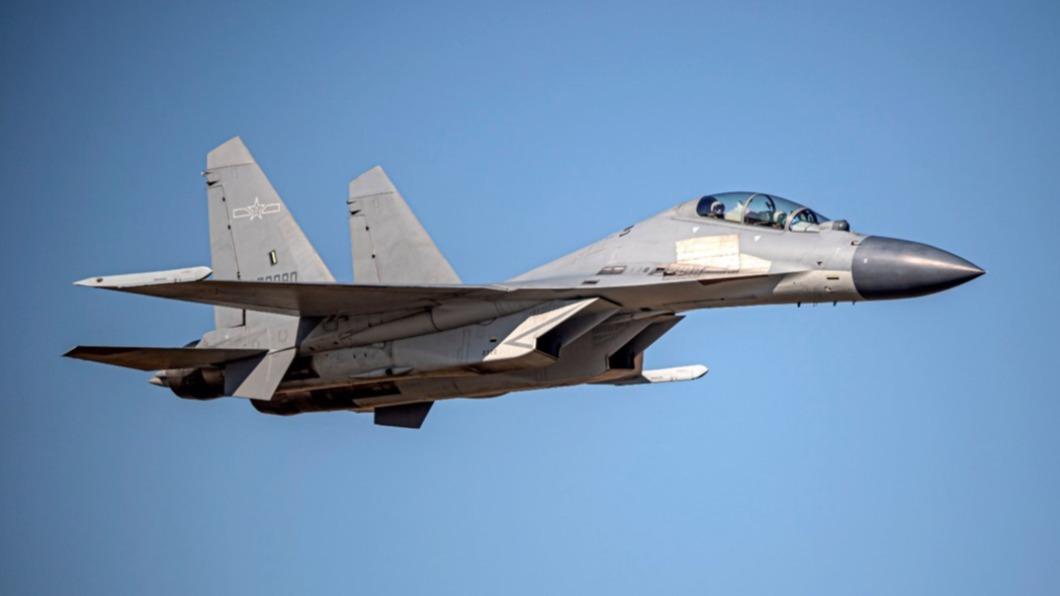 圖為殲16同型機。(圖/翻攝自國防部官網) 19架中共軍機擾台西南ADIZ 空軍兵力應對