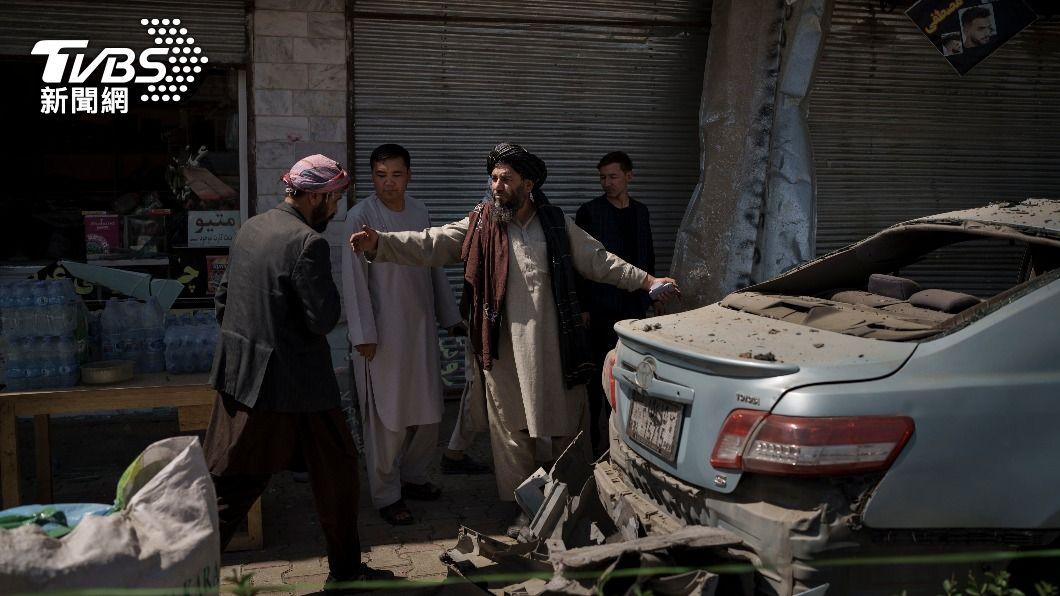 ISIS-K 18日於喀布爾及查拉拉巴發動攻擊。(圖/AP) 奪權劇本被抄襲?ISIS-K模仿塔利班戰術發動攻擊
