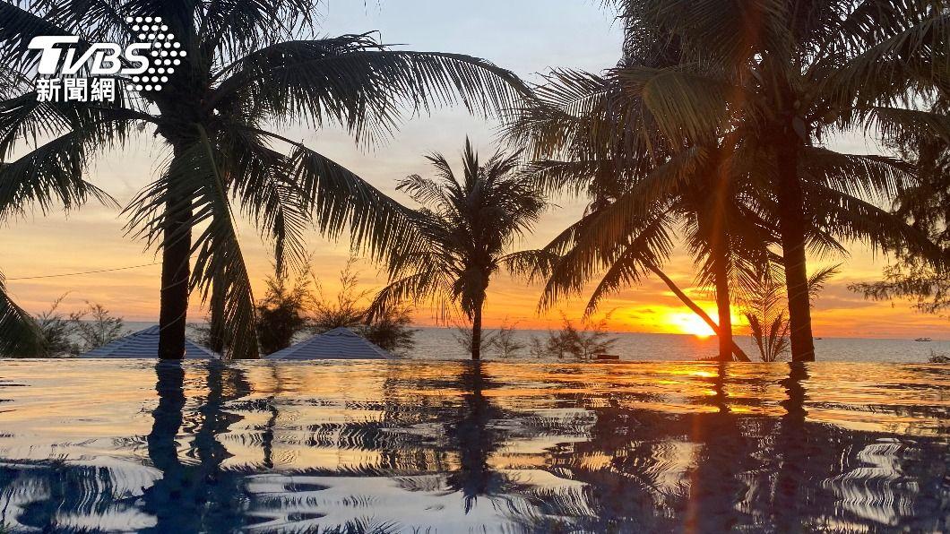 富國島將在11月開放旅客前往(圖/達志影像路透社) 度假再等等!富國島接種率全越南最低 延至11月開放