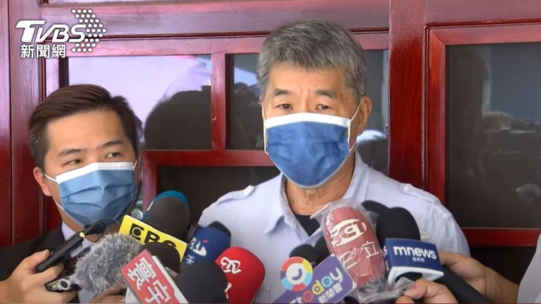 張亞中表示亡黨感非常嚴重。(圖/TVBS) 痛批蔡英文非常獨裁 張亞中:再這樣國民黨真的會亡黨