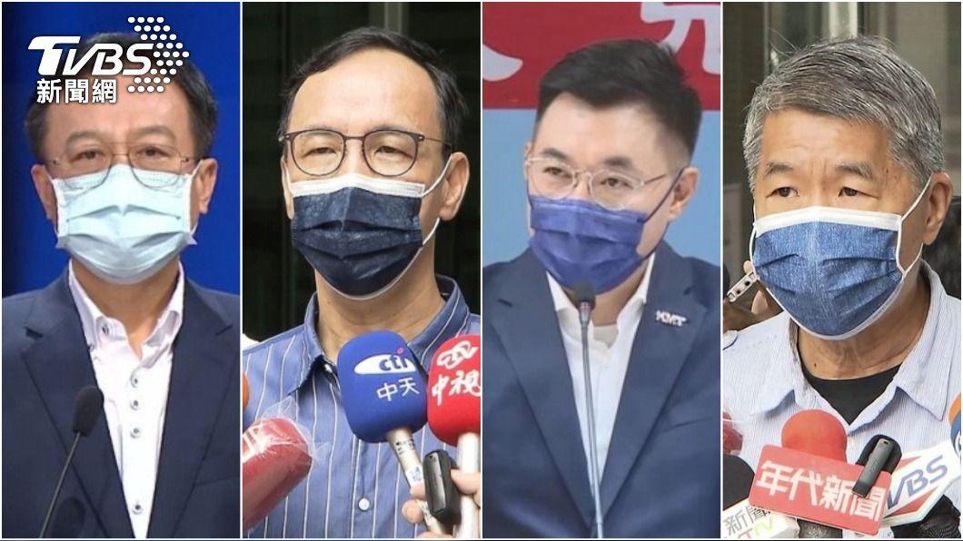 國民黨換誰當家,將在今天揭曉。(圖/TVBS) 不斷更新/朱立倫獲8萬5164票當選 得票率4成5未過半