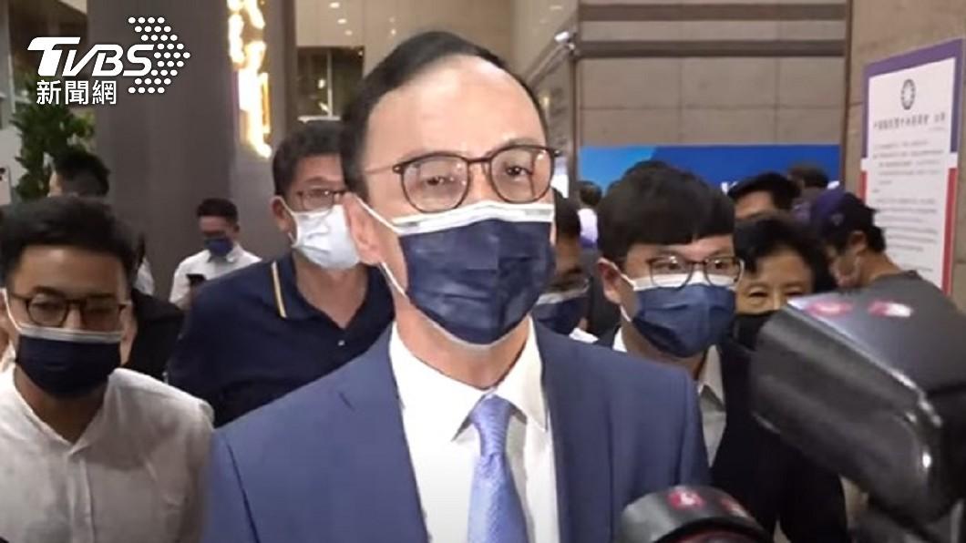 國民黨魁之爭由朱立倫勝選。(圖/TVBS) 國民黨主席7年改選5次 得票率「最高最低」都是朱立倫