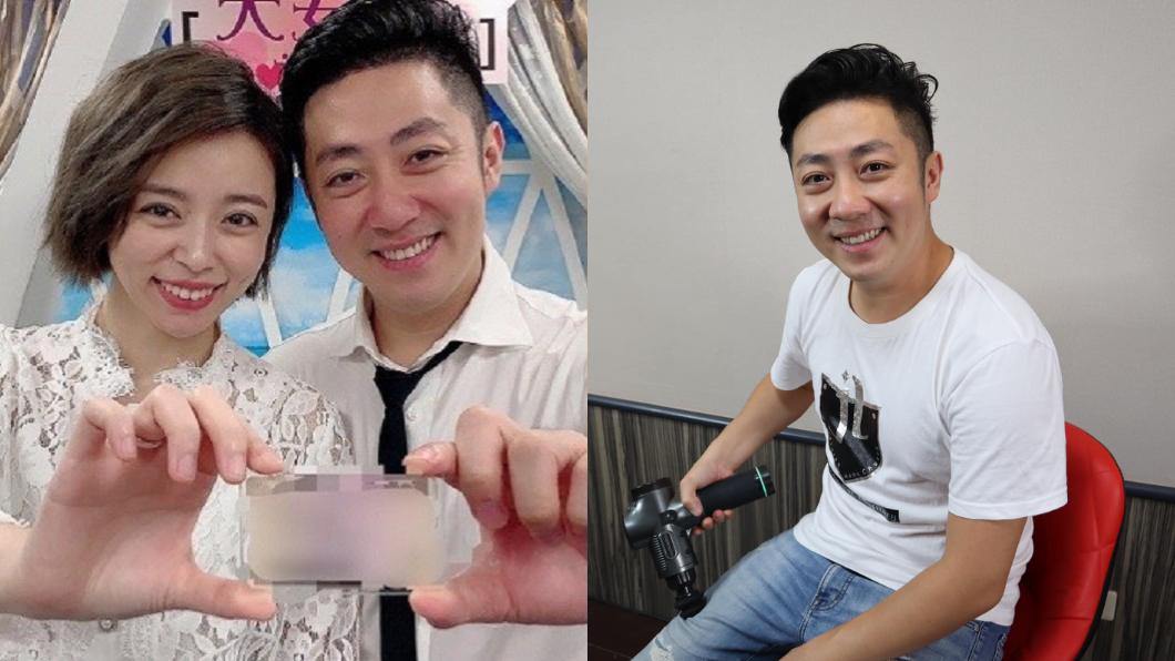 艾成、王瞳2020年7月步入婚姻。(圖/民視提供、翻攝自艾成Facebook) 才熬過夫妻失和!艾成爆5個月零工作 副業陷危機