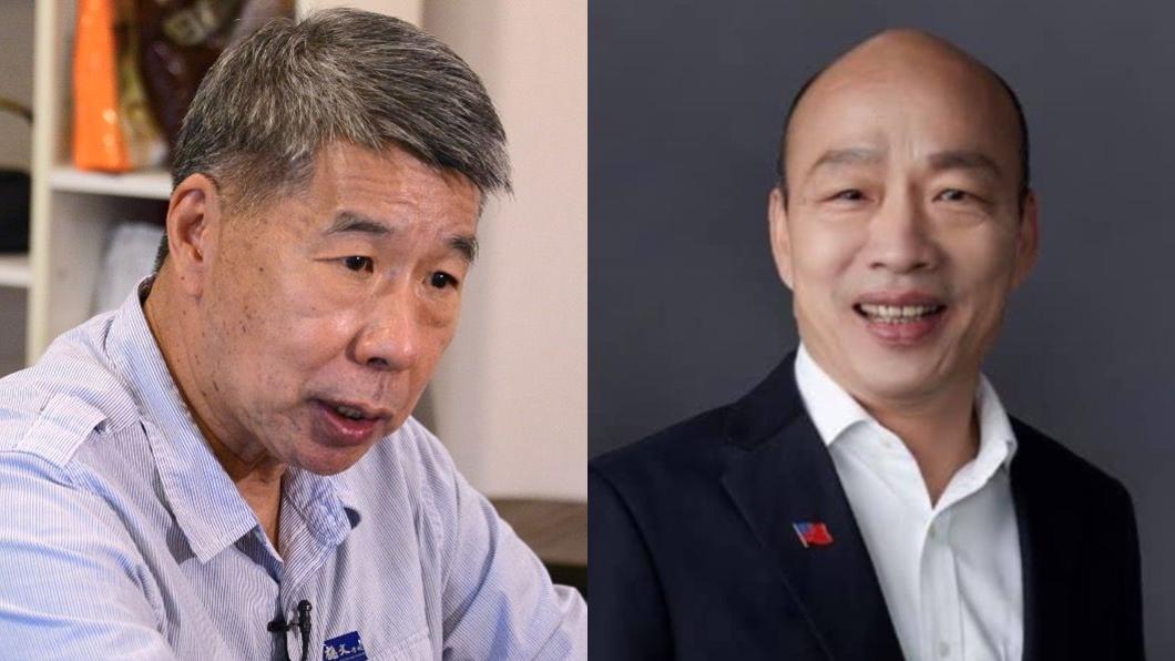 張亞中(左),韓國瑜(右)。(圖/TVBS資料畫面、翻攝自韓國瑜臉書) 3票倉「驚人票數」完勝朱 張亞中爆與韓國瑜神秘連結