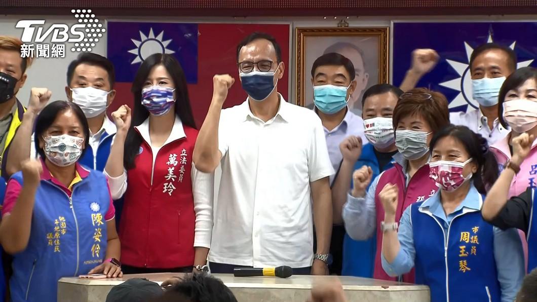 朱立倫。圖/TVBS 朱立倫回應習近平賀電 民進黨:沒有替台灣發聲的勇氣