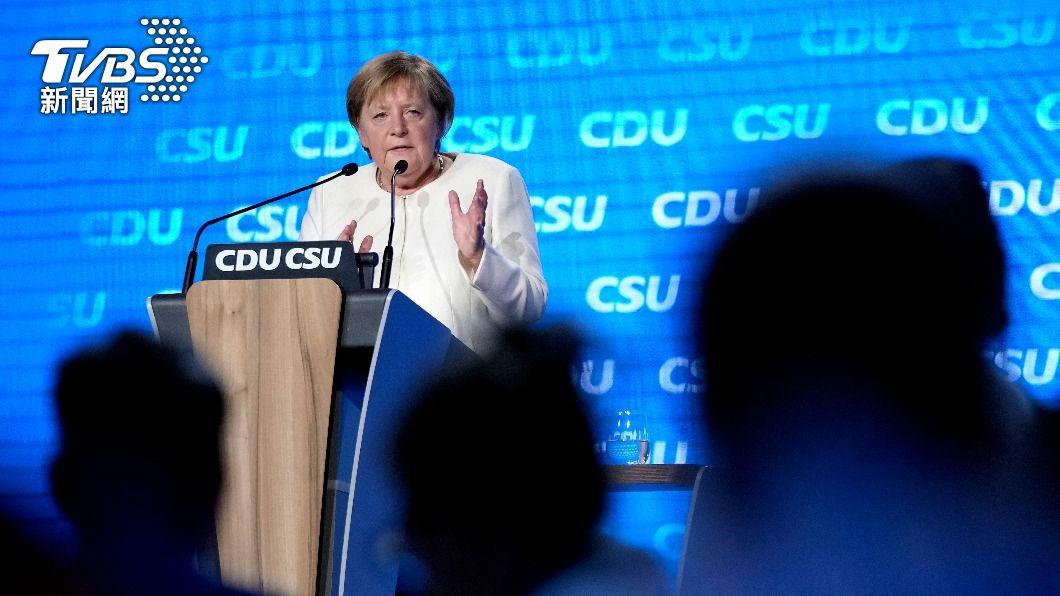 德國總理梅克爾。(圖/達志影像美聯社) 德國「永遠的總理」將卸任 梅克爾政治遺產前途未卜