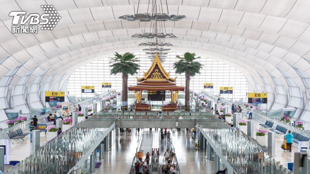 泰國機場。(圖/shutterstock) 日本、泰國疫情趨緩 逐步放寬邊境隔離限制