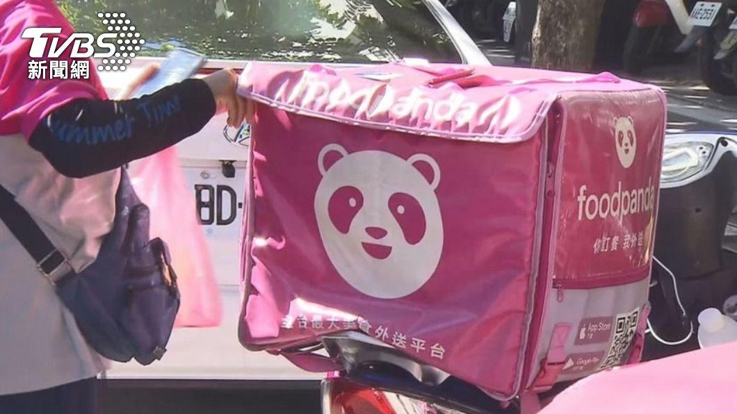 有網友發文抱怨熊貓外送員的誇張行徑。(示意圖,非當事人/TVBS) 外送員拒拿上樓還拿大聲公開嗆 客問:我錯了嗎?