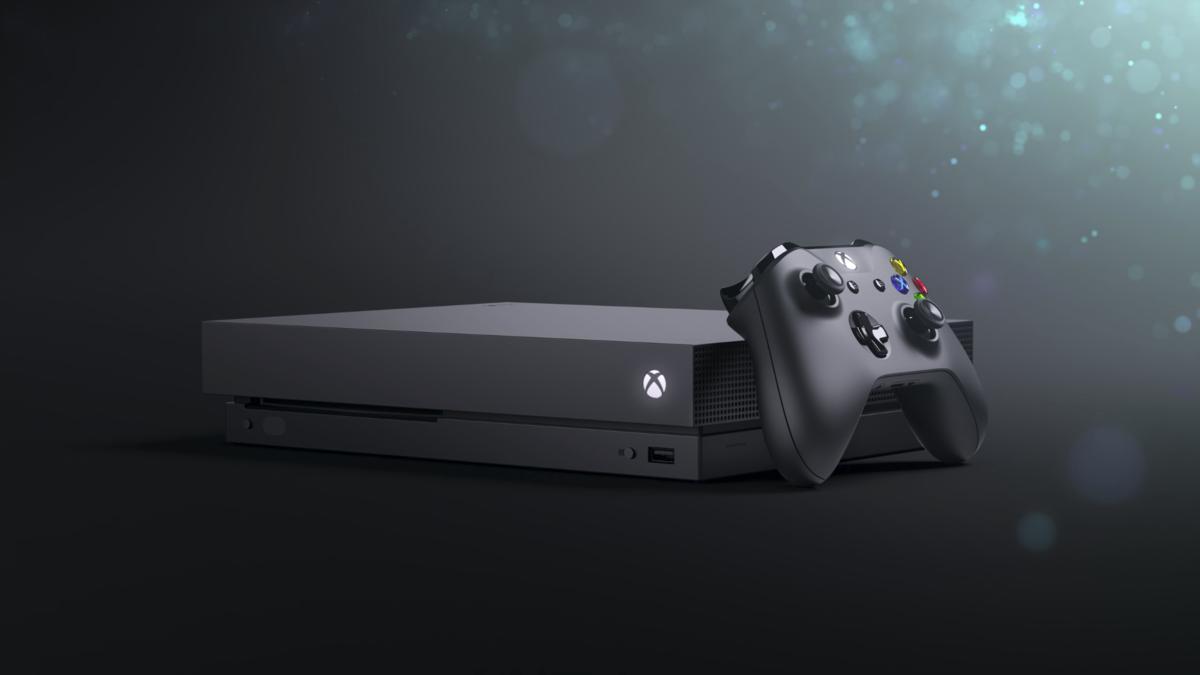 全新主機「Xbox One X」將於年底問世,主打原生 4K 高畫質表現。(圖片來源:官方宣傳片截圖)