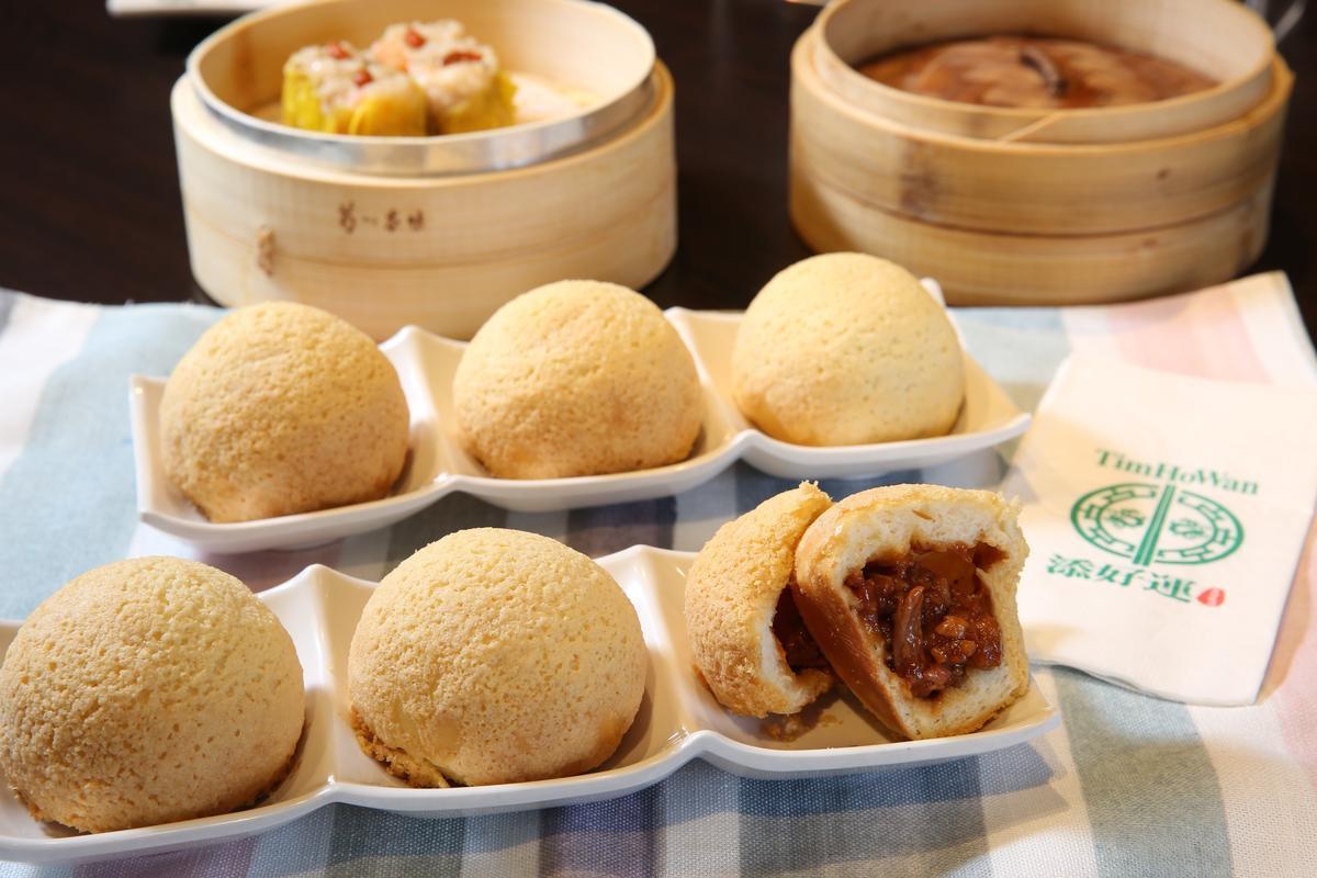添好運招牌港點「酥皮焗叉燒包」在台灣從2014年開賣至今,已賣超過550萬顆。