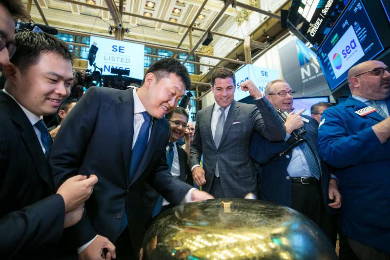 蝦皮母公司紐約上市 市值超越台灣2大電商總和