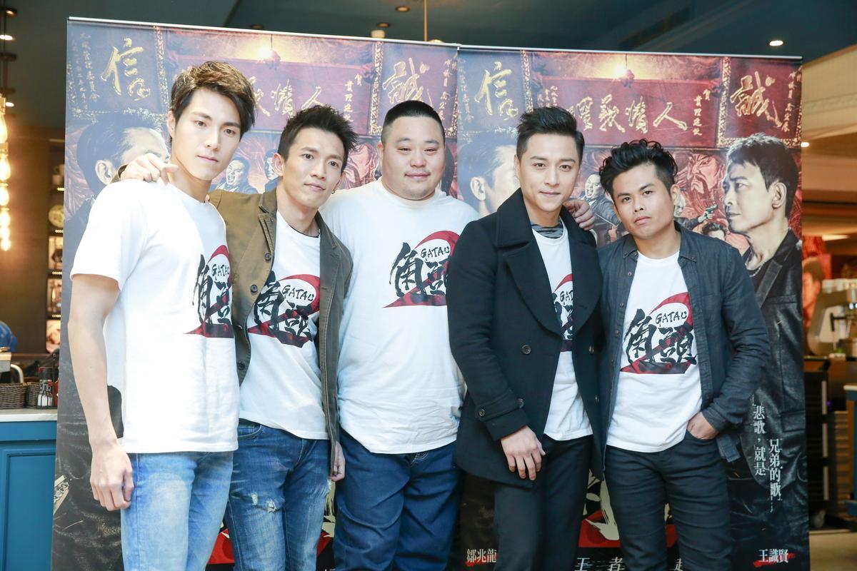唐振剛、黃尚禾、吳震亞、鄭人碩及張再興等人,在片中演出角頭五虎將。