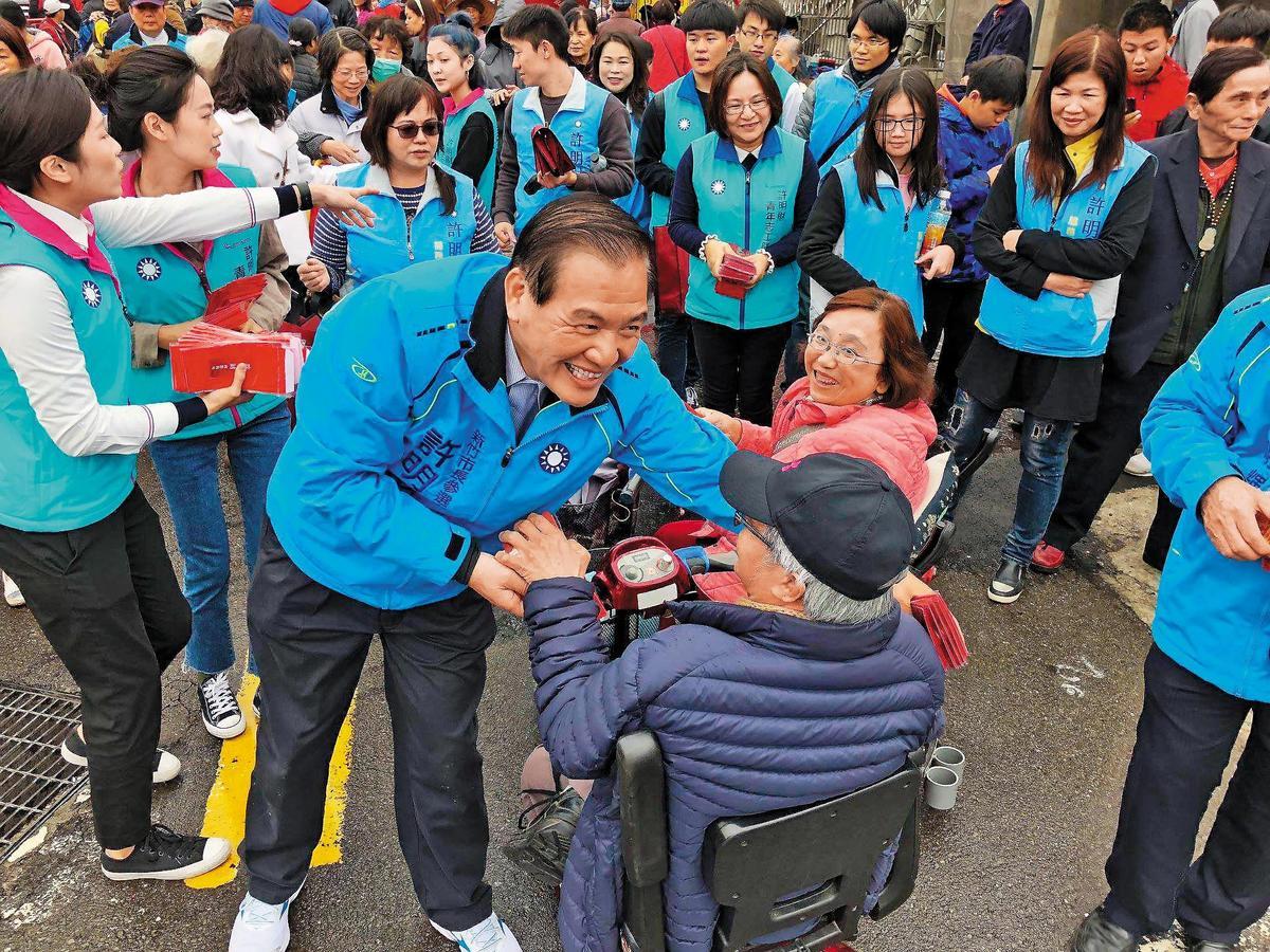 國民黨新竹市提名許明財(如圖)、嘉義市則由前市長黃敏惠回鍋參選,前立委丁守中五度參選台北市長,被外界認為無新意。
