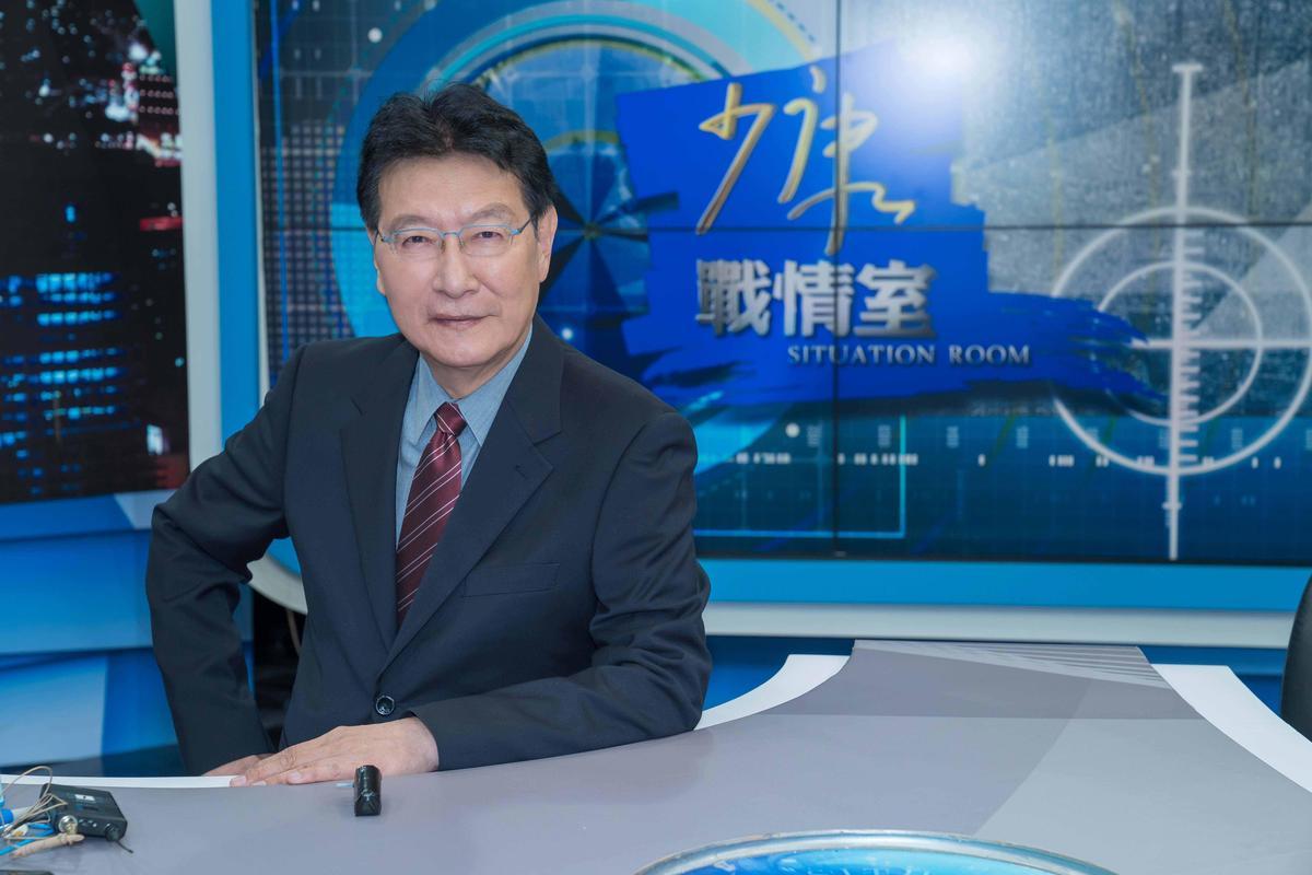 趙少康今提到孫安佐,他認為十幾歲的孩子似懂非懂,令父母很費心。(TVBS提供)