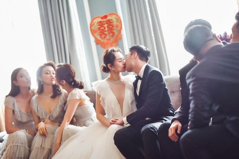 圖/英皇提供 超正伴娘團警告賴弘國:要對她好,不然我們不會放過你