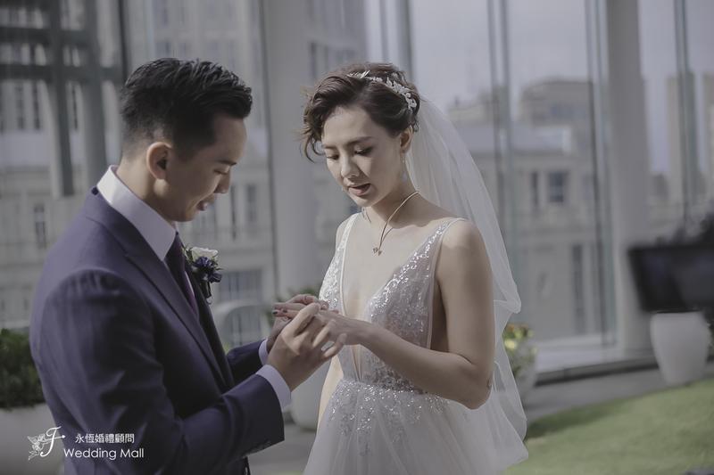 劉雨柔行頭太貴 婚禮只能慢慢走
