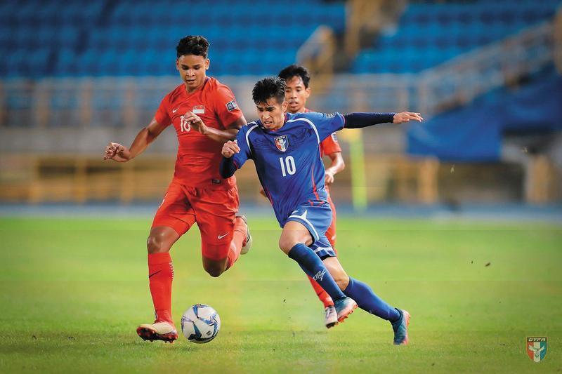 今年3月在台北舉辦的亞洲盃。(圖/翻攝自中華民國足球協會CTFA臉書) 2018世足賽 台灣與世界盃的距離有多遠?