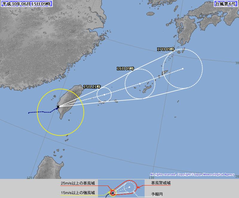 圖/鏡週刊 日宣布凱米颱風生成 彭啟明:端午假期沒泡湯