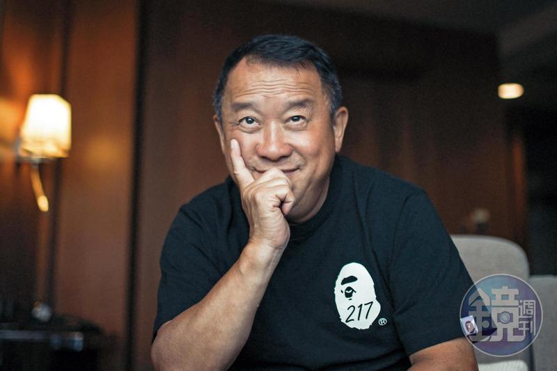 圖/鏡週刊 父是五億探長大將被通緝來台 曾志偉賺的台灣錢都沒帶走