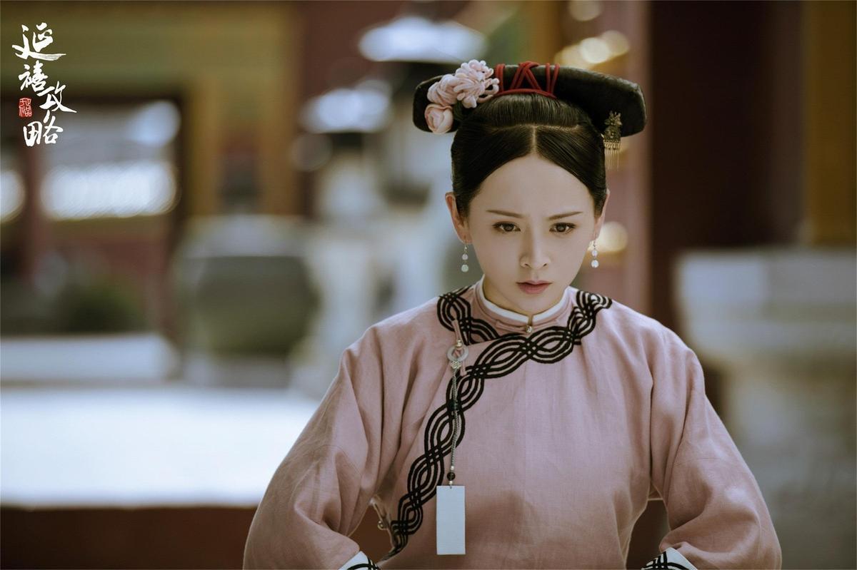大陸女星鄧莎曾在陸劇《延禧攻略》演出女主角魏瓔珞的姐姐。(微博)
