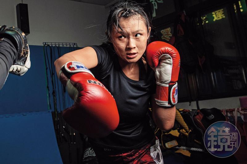 圖/鏡週刊 29歲接觸綜合格鬥 她揮拳打掉失敗的愛情