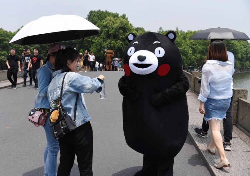 「熊本熊」不是熊 官方註冊商標正名「酷MA萌」