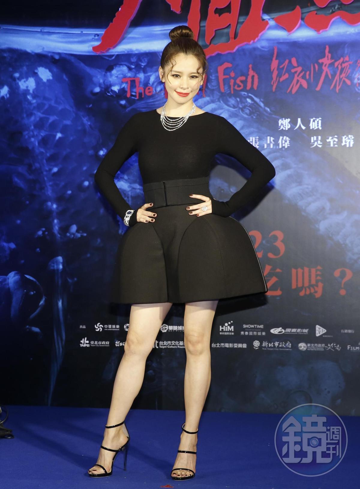 徐若瑄感謝老公體諒她的工作,也稱是在李雲峰鼓勵下才接拍該片。